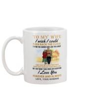 TURN BACK THE CLOCK - LOVELY GIFT FOR WIFE Mug back