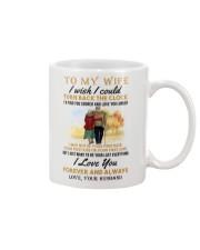 TURN BACK THE CLOCK - LOVELY GIFT FOR WIFE Mug front