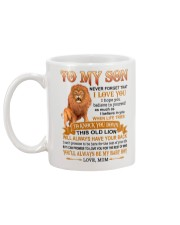 I LOVE YOU - SPECIAL GIFT FOR SON Mug back