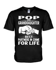 BEST PARTNERS IN CRIME V-Neck T-Shirt thumbnail