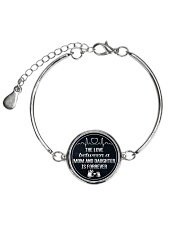 1 DAY LEFT - GET YOURS NOW  Metallic Circle Bracelet front