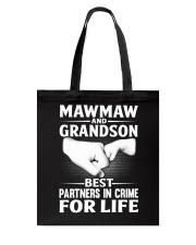 BEST PARTNERS IN CRIME Tote Bag thumbnail