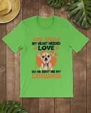 GOD SENT ME MY CHIHUAHUA Classic T-Shirt lifestyle-mens-crewneck-front-18