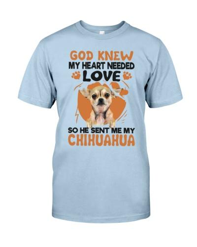 GOD SENT ME MY CHIHUAHUA