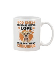 GOD SENT ME MY CHIHUAHUA Mug thumbnail