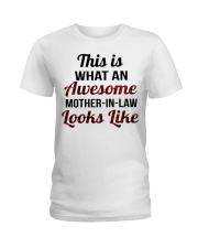 LOOKS LIKE - GREAT GIFT FOR MOTHER-IN-LAW Ladies T-Shirt thumbnail