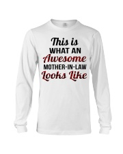 LOOKS LIKE - GREAT GIFT FOR MOTHER-IN-LAW Long Sleeve Tee thumbnail
