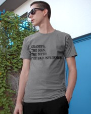 THE BAD FLATULENCE - GIFT FOR GRANDPA Classic T-Shirt apparel-classic-tshirt-lifestyle-17