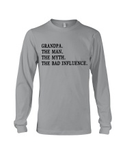 THE BAD FLATULENCE - GIFT FOR GRANDPA Long Sleeve Tee thumbnail