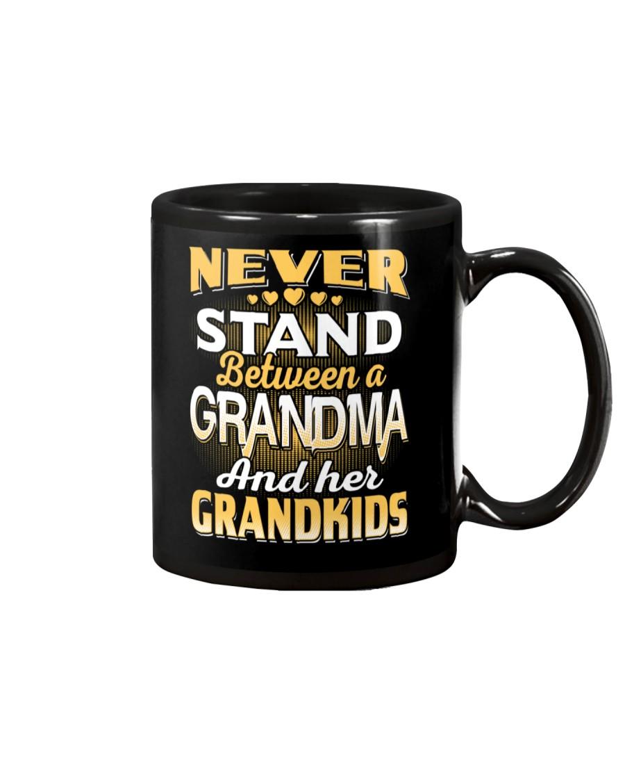 Between Grandma And Grandkids Mug