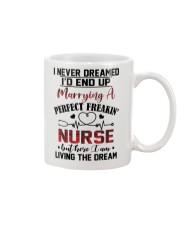 LIVING THE DREAM - LOVELY GIFT FOR PERFECT NURSE Mug thumbnail