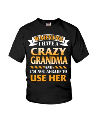 Warning Crazy Grandma