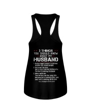 3 THINGS SHOULD KNOW ABOUT MY HUSBAND Ladies Flowy Tank thumbnail