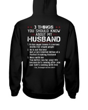 3 THINGS SHOULD KNOW ABOUT MY HUSBAND Hooded Sweatshirt thumbnail
