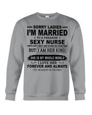 I'M MARRIED TO A FREAKIN' SEXY NURSE Crewneck Sweatshirt thumbnail