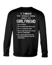 5 THINGS YOU SHOULD KNOW ABOUT MY GIRLFRIEND Crewneck Sweatshirt thumbnail