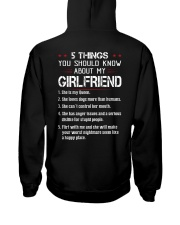 5 THINGS YOU SHOULD KNOW ABOUT MY GIRLFRIEND Hooded Sweatshirt thumbnail