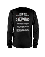 5 THINGS YOU SHOULD KNOW ABOUT MY GIRLFRIEND Long Sleeve Tee thumbnail