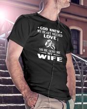 GOD SENT ME MY WIFE Classic T-Shirt lifestyle-mens-crewneck-front-5