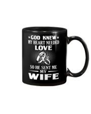 GOD SENT ME MY WIFE Mug thumbnail