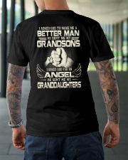 PERFECT SHIRT FOR GRANDPA Classic T-Shirt lifestyle-mens-crewneck-back-3