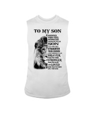 STRAIGHTEN YOUR CROWN - BEST GIFT FOR SON FROM MOM Sleeveless Tee thumbnail