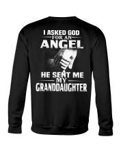 God Sent Me Granddaughter Crewneck Sweatshirt thumbnail