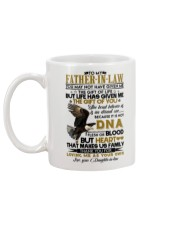 THE GIFT OF YOU - LOVELY GIFT FOR FATHER-IN-LAW Mug back