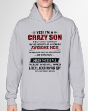 TO SON FROM AWESOME MOM Hooded Sweatshirt garment-hooded-sweatshirt-front-04