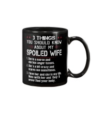 3 THINGS YOU SHOULD KNOW ABOUT MY SPOILED WIFE Mug thumbnail