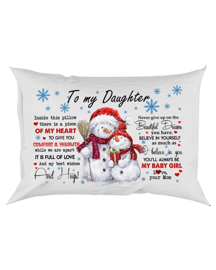 MY HEART - LOVELY GIFT FOR DAUGHTER Rectangular Pillowcase