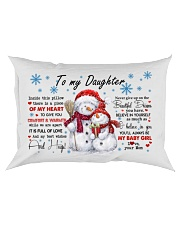 MY HEART - LOVELY GIFT FOR DAUGHTER Rectangular Pillowcase front