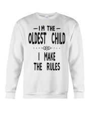 I'm The Oldest Child Crewneck Sweatshirt thumbnail