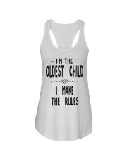 I'm The Oldest Child Ladies Flowy Tank thumbnail