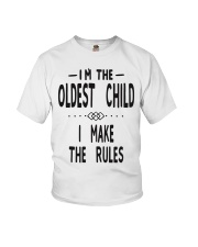 I'm The Oldest Child Youth T-Shirt thumbnail