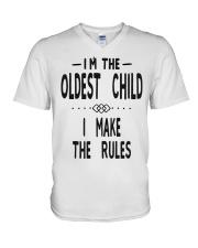 I'm The Oldest Child V-Neck T-Shirt thumbnail