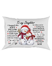 YOU'LL FEEL MY LOVE - SPECIAL GIFT FOR DAUGHTER Rectangular Pillowcase front