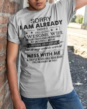SHE IS MY WHOLE WORLD Classic T-Shirt apparel-classic-tshirt-lifestyle-27