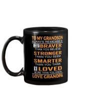 To My Grandson Always Remember Mug back