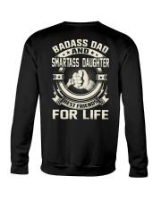 DAD DAUGHTER BEST FRIENDS FOR LIFE Crewneck Sweatshirt thumbnail