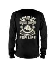 DAD DAUGHTER BEST FRIENDS FOR LIFE Long Sleeve Tee thumbnail