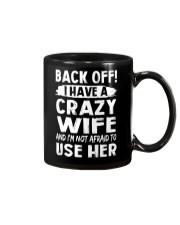 Back Off - Crazy Wife Mug thumbnail
