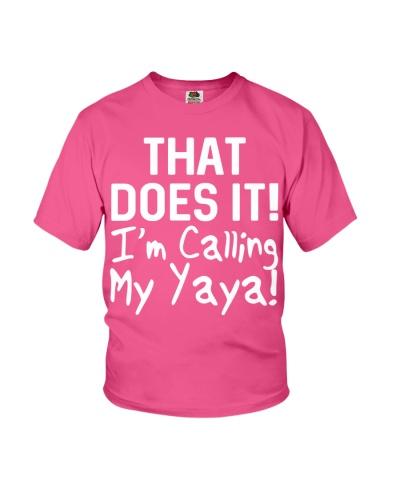 Calling Yaya