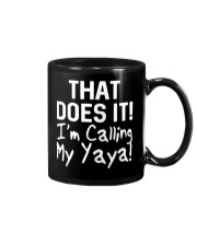 Calling Yaya Mug thumbnail