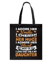 I Love My Daughter Tote Bag thumbnail