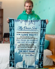 """1 DAY LEFT - GET YOURS NOW Small Fleece Blanket - 30"""" x 40"""" aos-coral-fleece-blanket-30x40-lifestyle-front-09"""