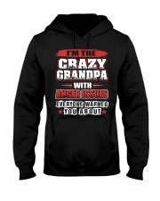 A Grandpa Born In February Hooded Sweatshirt thumbnail