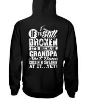 IF IT'S STILL BROKEN - PERFECT GIFT FOR GRANDPA Hooded Sweatshirt thumbnail