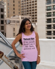 1 DAY LEFT - GET YOURS NOW Ladies Flowy Tank lifestyle-bellaflowy-tank-front-3