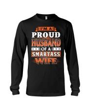 Proud Husband Of A Smartass Wife Long Sleeve Tee thumbnail